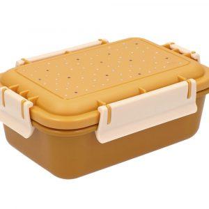 caja almuerzo bento dots