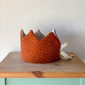 corona de tela